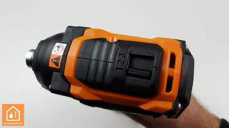 Visseuse à chocs sans fil BSS 180P de AEG - les trois vitesses