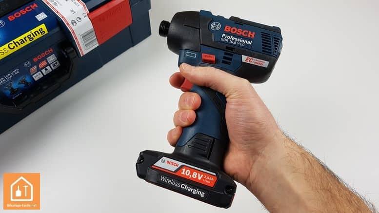 visseuse à chocs GDR 10,8 V-EC de Bosch Professional - faible poids