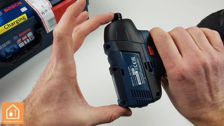 visseuse à chocs GDR 10,8 V-EC de Bosch Professional - taille