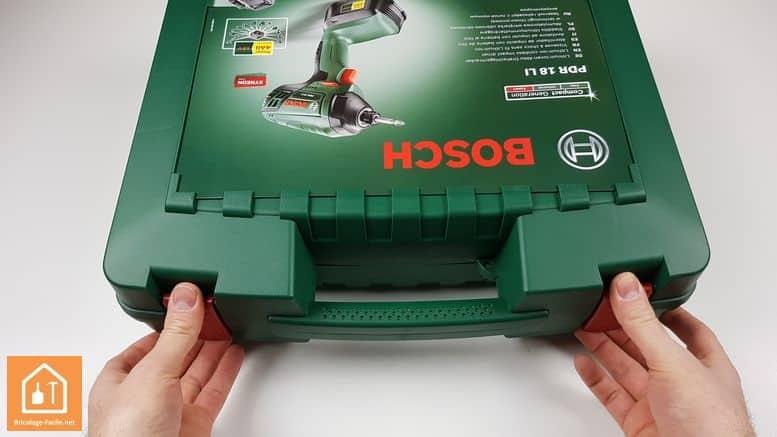 Visseuse à chocs sans fil PDR 18 LI de Bosch - la mallette
