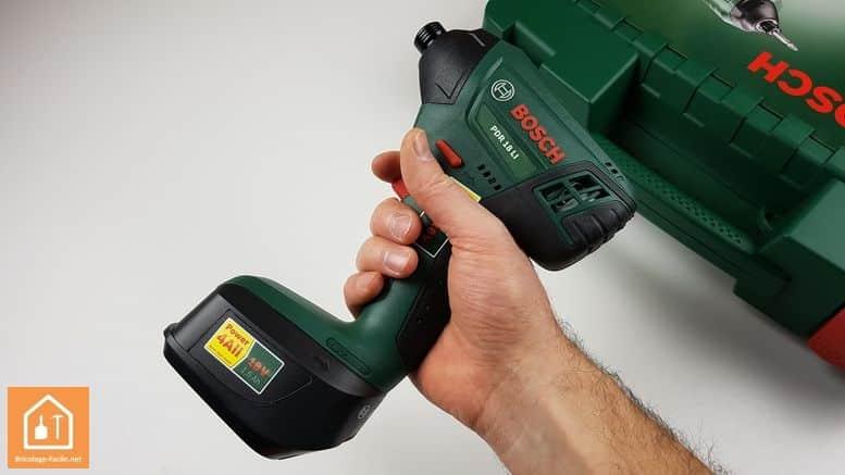 Visseuse à chocs sans fil PDR 18 LI de Bosch - la prise en main